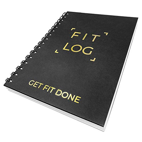 Cossac Fitness Journal & Workout Planner - Designed by Experts Gym Notebook, Workout Tracker, Exercise Log Book for Men Women