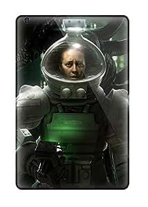 Flexible Tpu Back Case Cover For Ipad Mini/mini 2 - Alien Isolation