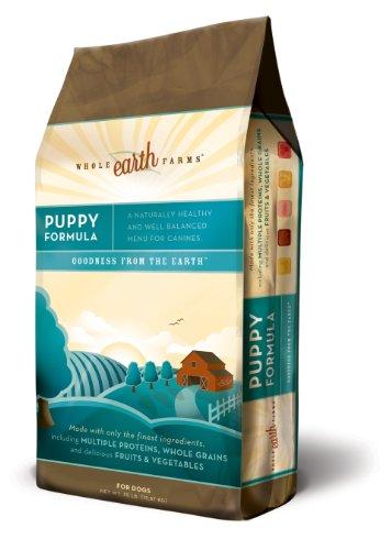 Merrick Whole Earth Farms Puppu Dry Fog Food, 35-Pound Bag, My Pet Supplies
