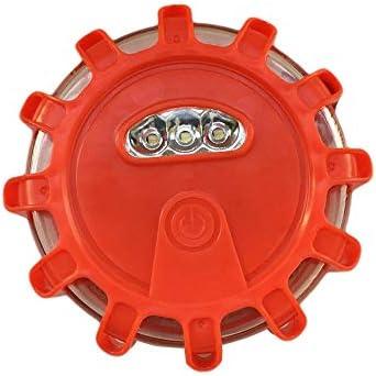Benjamin George Pearson 1 St/ück//Led Multifunktions Sicherheitswarnlicht Stra/ße Rote Fackeln Blinkende Warnung Stra/ßenrand Notlicht F/ür Auto LKW Rot