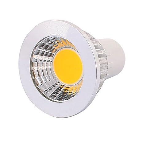COB eDealMax AC85-265V 3W GU5.3 base Reflector LED Lámpara Bombilla ahorro de energía blanca pura - - Amazon.com
