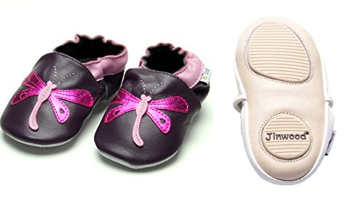 Jinwood designed by amsomo - Zapatillas de estar por casa para niña Multicolor - dragonfly purple mini shoes