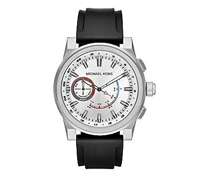 Michael Kors Men's Silvertone Rhodium Strap Watch by Michael Kors