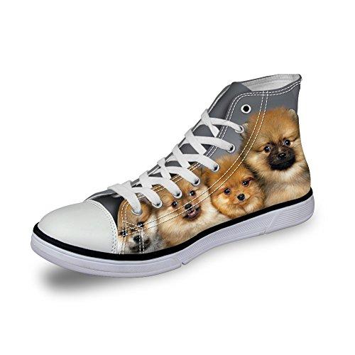 ThiKin スニーカー キャンバス シューズ ブラック 猫 個性的 かわいい 動物 柄 シンプル 3Dプリント カジュアル 靴 軽量 通気 おしゃれ ファッション 通勤 通学 プレゼント メンズ