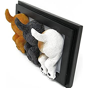 Amazon.com: Ikea Set of 3 Dog Tail Hooks Hat Coat Key Wall ...