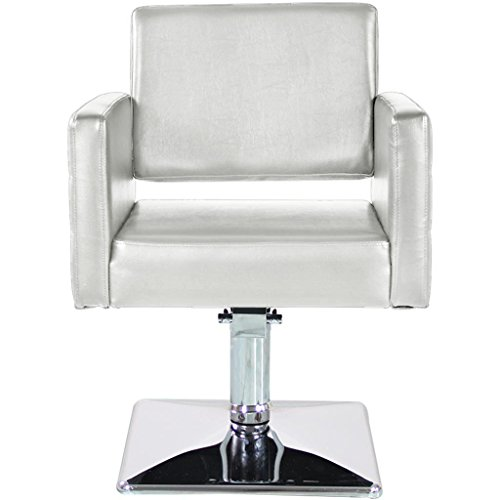 brand new barber chair styling hair beauty salon spa equipment white