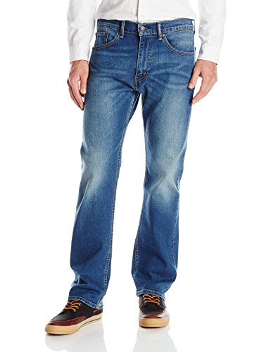 Levi's Men's 505 Regular Fit Jean, Big Root, - Fit Jean Straight Root Denim