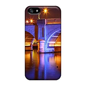 Anti-scratch And Shatterproof Beautiful Bridge In Color For Iphone 5/5S Phone Case Cover High Quality Cases