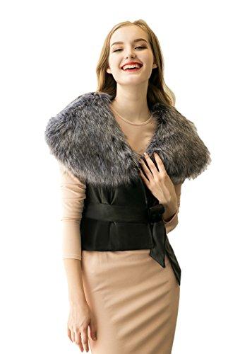 Vlunt - Abrigo - para mujer gris