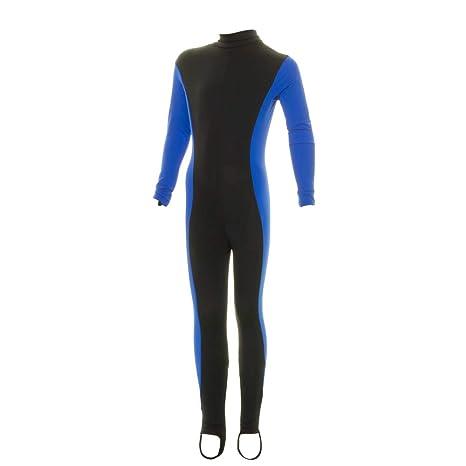 94021ce5a9 Amazon.com : Evo Lycra Suit (Kids') Medium Blue : Wetsuits : Sports ...