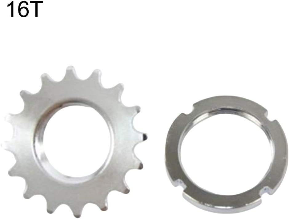 """FIXED GEAR TRACK 14 TOOTH 1//8 INCH 1//8/"""" FIXIE LOCK RING 14T COG /& LOCKRING"""