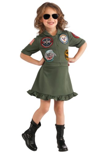 Top Gun, US Navy Flight Dress Costume, Medium - Top Gun Family Costume