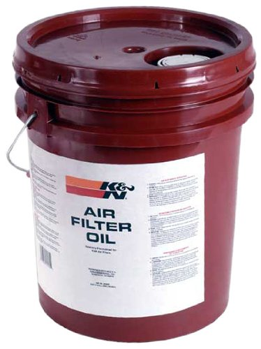 K&N 99-0555 Air Filter Oil - 5 Gallon by K&N