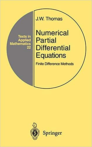Numerical Partial Differential Equations Finite Difference