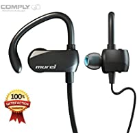 Acquisition Murel P01 Wireless Headphones with Built-in Microphone - Black wholesale