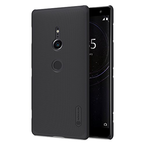 Sony Xperia XZ2 Case, PC Ultra Slim Thin Light Curved Ultra Fit Cover, Non-Slip Salient Point Surface for Excellent Grip Anti-Fingerprint Protective Case for Sony Xperia XZ2 (Black)
