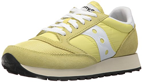 De 24 White Para Mujer Jazz Vintage Amarillo yellow Cross O Zapatillas Saucony I6qS6