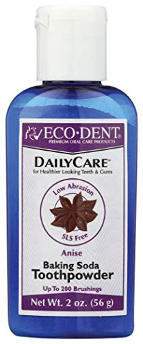 Eco Dent Daily Care - Eco-Dent Daily Care Baking Soda Toothpowder, Anise, 2 oz