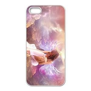 Custom Angel Back Cover Case for iphone5,5S JN5S-440