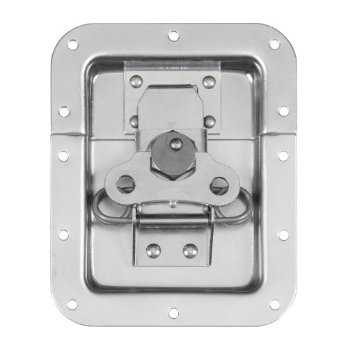 Reliable Hardware Company RH-A3004-A Large Butterfly Spring Loaded Road Case Recessed Latch, ()