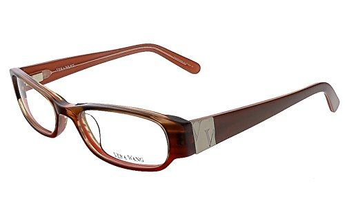 VERA WANG Eyeglasses V041 Burgundy 50MM
