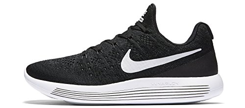 Nike Lunarepic Low Flyknit 2 Heren Hardloopschoenen 863779 Sneakers Schoenen (uk 6 Us 7 Eu 40, Black White Anthracite 001)