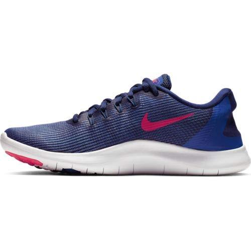 Nike Men's Flex RN 2018 Running Shoe Blue Void/Red Orbit/Indigo Force/White Size  6.5 M US