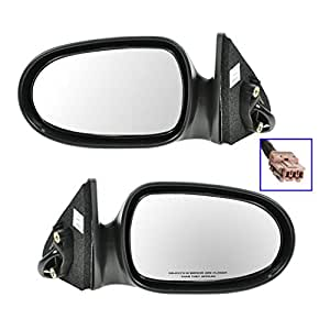 Amazon.com: Power Side View Mirrors Left & Right Pair Set ...