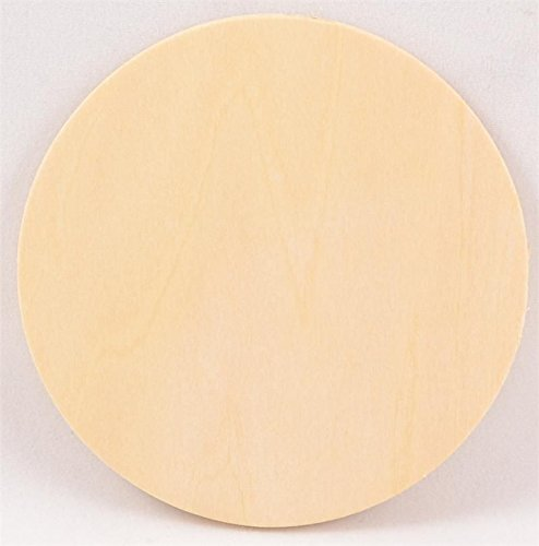 1 Pc, 22 Inch X 1 Inch Thick Plywood Circles-Thick