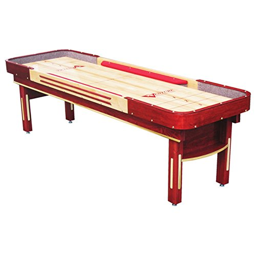 Grand Deluxe Bankshot Shuffleboard Table - Gaming Board with Playing Accessories - Gameroom Furniture - Wood Game Table - 9