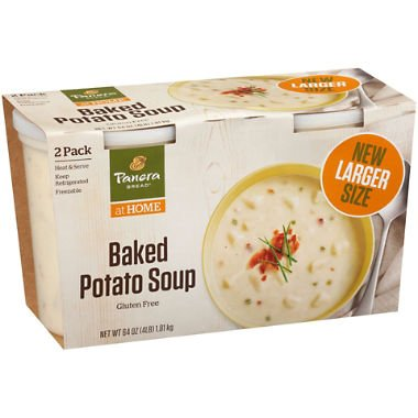 - Panera Bread Loaded Baked Potato Soup 32 oz. tubs, 2 pk. A1