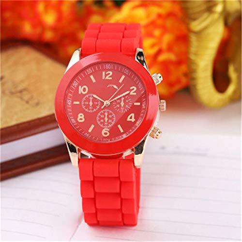 HZBIOK Reloj Mujer Correa De Color De Moda Dial Digital ...