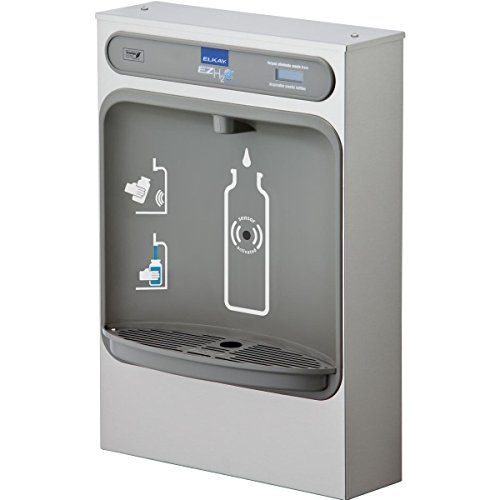 - Elkay EZWSSM EZH2O Bottle Filling Station Surface Mount, Non-Filtered Non-Refrigerated Stainless