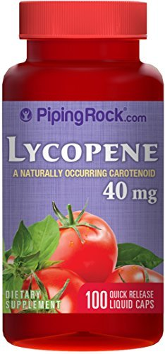 Lycopene 40mg 100 Liquicaps by Piping Rock