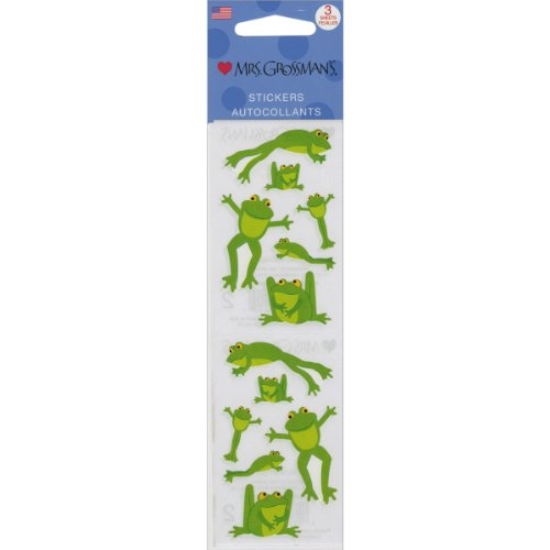 Mrs. Grossman'S Stickers-Playful Frogs (Playful Frogs)