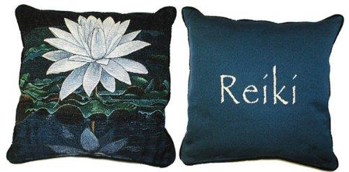 Amazon.com: White Lotus Reiki almohada: Home & Kitchen