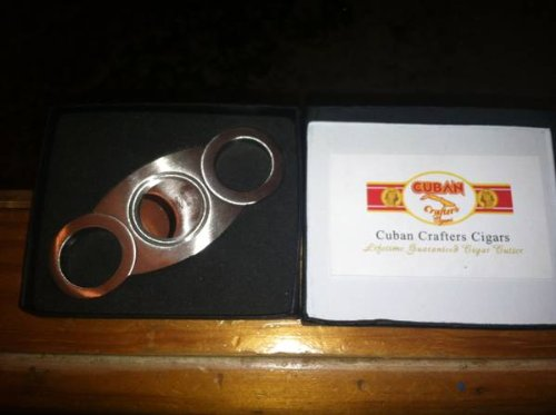 Cigar Cutter Cuban Crafter's Perfect