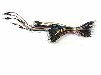 Breadboard Jumper Wire 75pcs pack