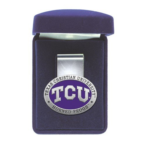Heritage Pewter TCU Horned Frogs Money - Money Clip Ncaa Pewter