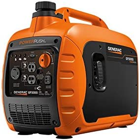 best quiet generator: Generac GP3000i