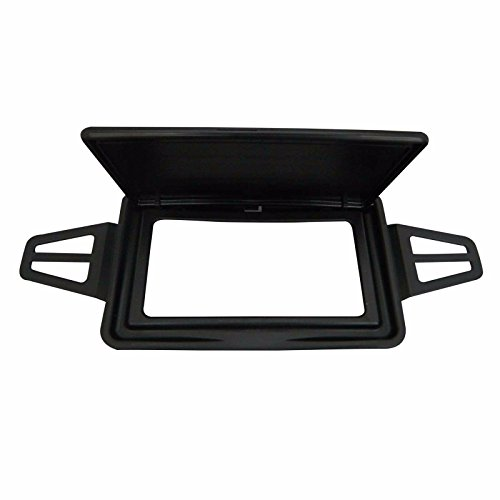 Bross BDP524FBA 2 Pieces Sun Visor Shade Mirror Cover Black Color For Mercedes W210 W211 Left And Right Sides