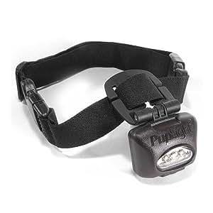 lighted dog collar lights 200 feet forward. Black Bedroom Furniture Sets. Home Design Ideas