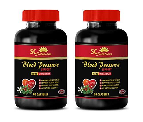 Energy Vitamin c - Blood Pressure Support 690 MG - Energy Boost Men - 120 Capsules (2 Bottles) 32.Energy Vitamin Packs - Blood Pressure Support 690 MG - Energy Boost Mood Enhance - 120 Capsules (2 Bo