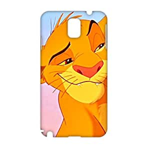 Angl 3D Case Cover Cartoon Cute Tiger Phone Case for Samsung Galaxy Note3