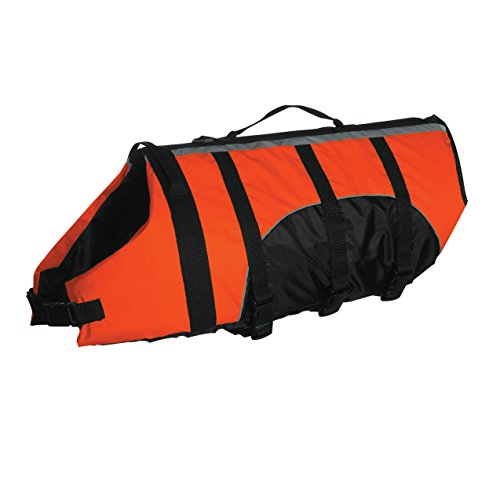 "Guardian Gear Aquatic Preserver for Dogs, 20"" Large, Orange"
