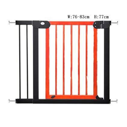 格安販売中 無垢材の子供の安全扉77センチ高階段手すりベビーフェンスペットの門犬の柵のドアパンチのない分離ドア B07NTY59RV B07NTY59RV, 須恵町:912a566c --- a0267596.xsph.ru