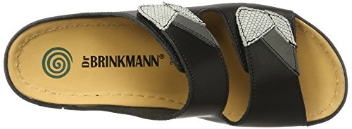 Dr. Brinkmann 701044 - Mules Mujer negro