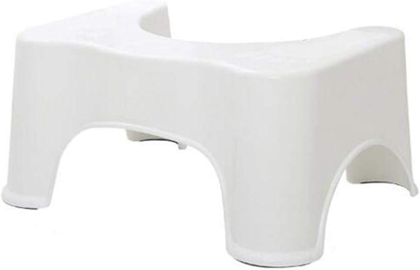 Bathroom Toilet Stool Child Pregnant Women Toilet Heightening Footstool können Adjust die Colon zu sein Faster und Easier zu Relieve (304732Cm) White