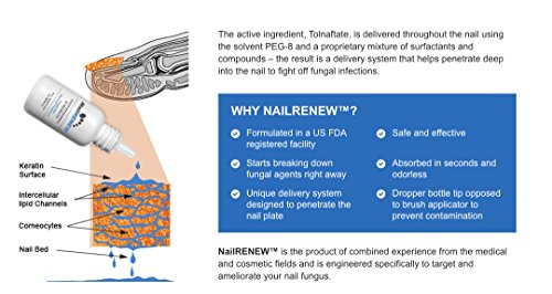 NailRENEW Antifungal - #1 Nail Fungus Treatment on the Market for Toenail and Fingernail Fungus, Discolored or Brittle Fungal Nails. (3) by NailRENEW (Image #4)
