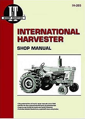 Amazon.com: International Harvester 574 Tractor Service Manual (IT Shop):  Home ImprovementAmazon.com